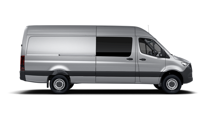 Solfilm til Mercedes Sprinter Van.