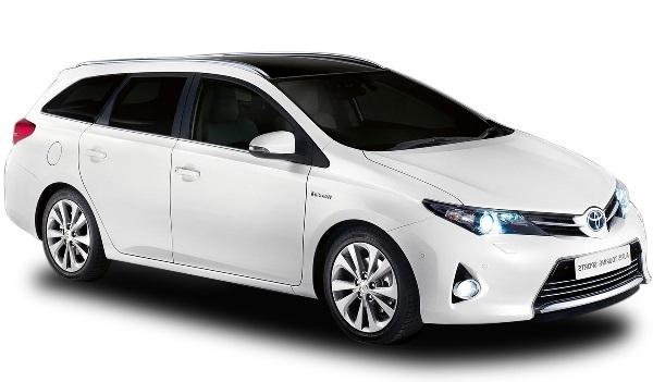 Solfilm til Toyota Auris Touring. Ferdig tilpasset solfilm til alle Toyota biler.