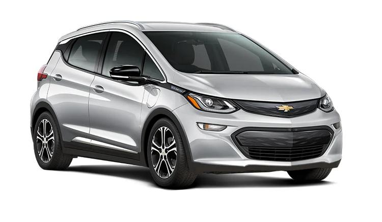 Solfilm til Chevrolet Bolt alle årsmodeller.