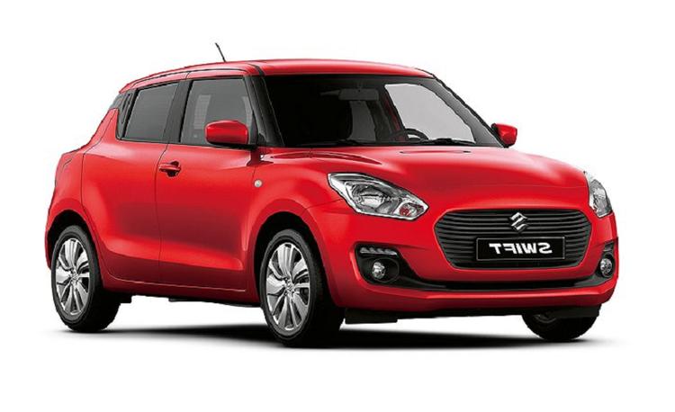 Solfilm til Suzuki Swift 5-dørs alle årsmodeller.