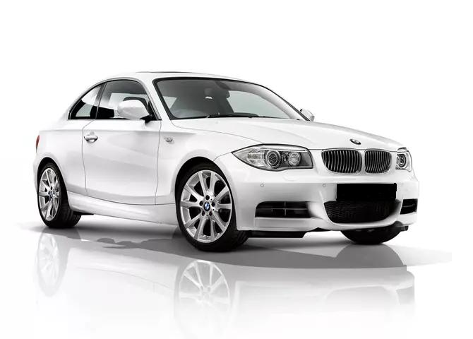 Solfilm til BMW 1-serie coupé. Ferdig tilpasset solfilm til alle BMW biler.