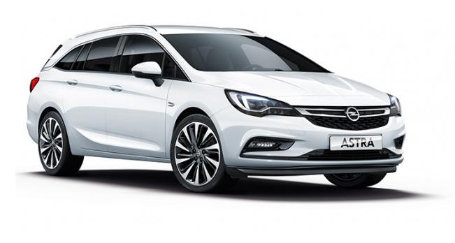 Solfilm til Opel Astra stasjonsvogn. Ferdig tilpasset solfilm til alle Opel biler.