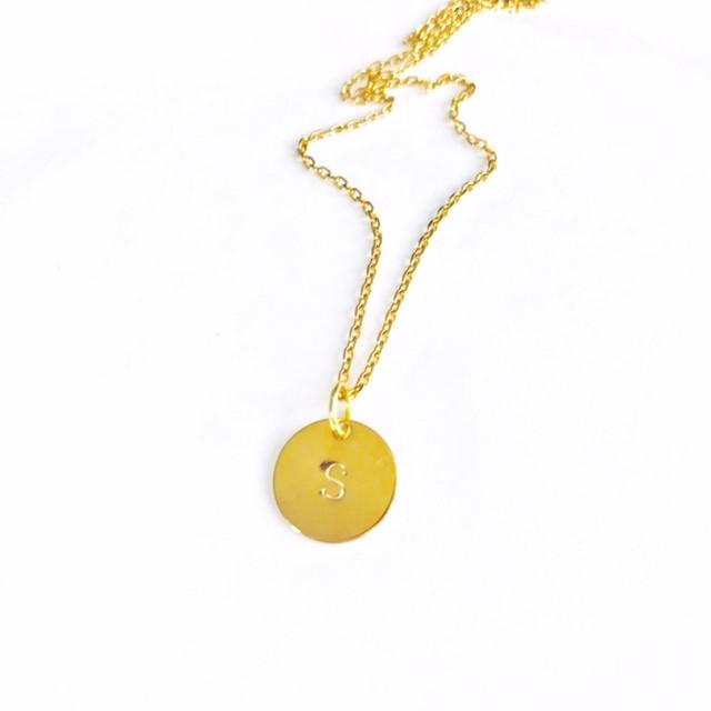 """Halsband """"Agnes"""" i guldfärgat stål"""