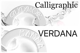 "Halsband ""Saga"" i metall med swarovskihjärta"