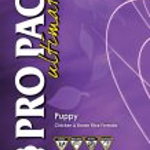 PRO PAC PUPPY CHICKEN & BROWN RICE WHOLEGRAIN 12KG