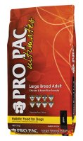 PRO PAC LARGE BREEDADULT w/CHICKEN & BROWN RICE WHOLE GR 12