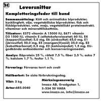 LEVERSNITTAR 3KG