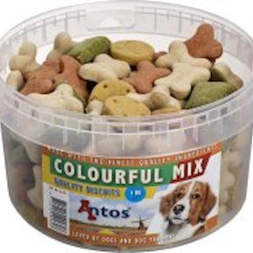 HUNDKEX COLOURFUL MIX 1KG