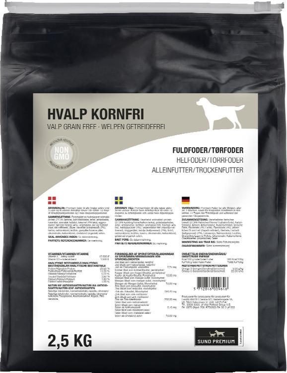 Sund Valp Grain Free 2,5 kg