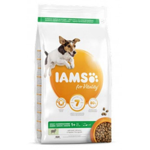Iams Adult small/medium Lamm 3kg