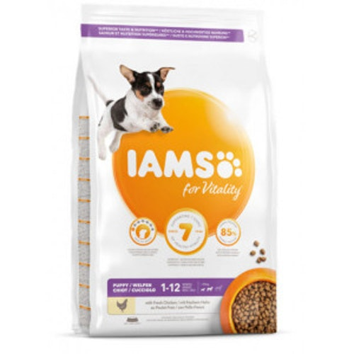 Iams Puppy Small/Medium kyckling 3kg