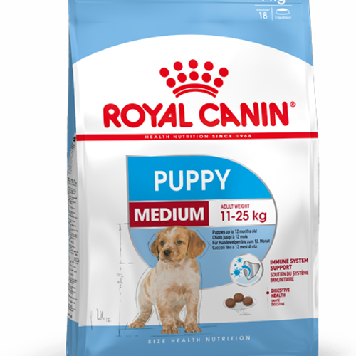 Royal Canin MEDIUM PUPPY, flera storlekar