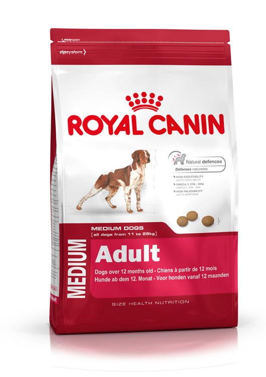 Royal Canin MEDIUM ADULT, flera storlekar