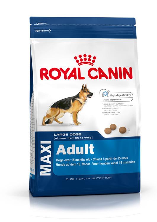 Royal Canin MAXI ADULT, flera storlekar