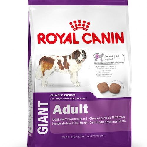 Royal Canin Giant Adult, Flera storlekar