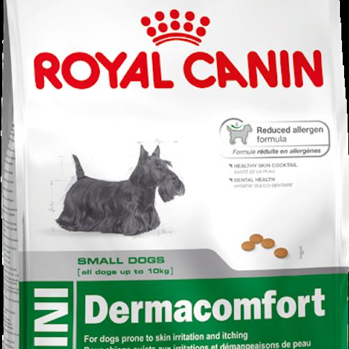 Royal Canin MINI DERMACOMFORT, flera storlekar