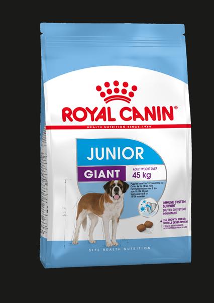 Royal Canin GIANT JUNIOR, flera storlekar