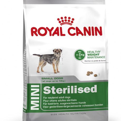 Royal Canin MINI STERILISED, flera storlekar