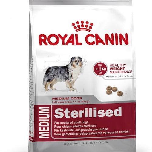 Royal Canin MEDIUM STERILISED, flera storlekar