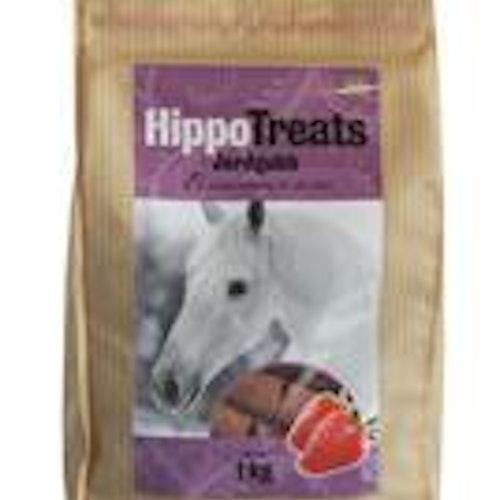 Hippo Treats Jordgubb 1kg