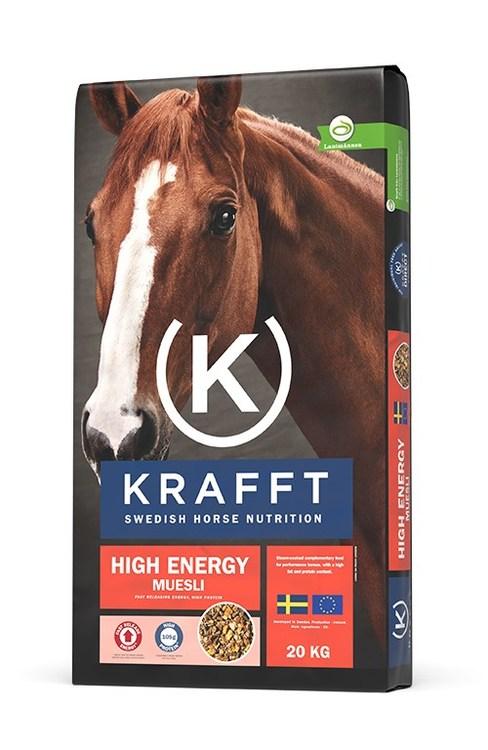 KRAFFT Müsli High Energy 20 kg 20kg