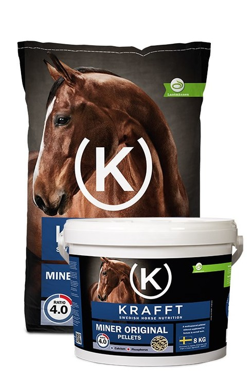 KRAFFT Mineral Original(Blå), granulat 25kg