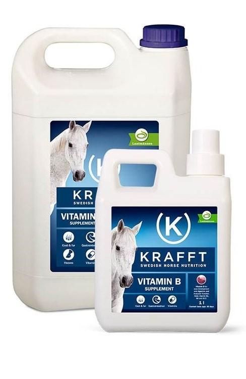 KRAFFT Vitamin B Flytande 1li