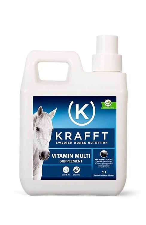 KRAFFT Vitamin Multi 1 Liter Flytande
