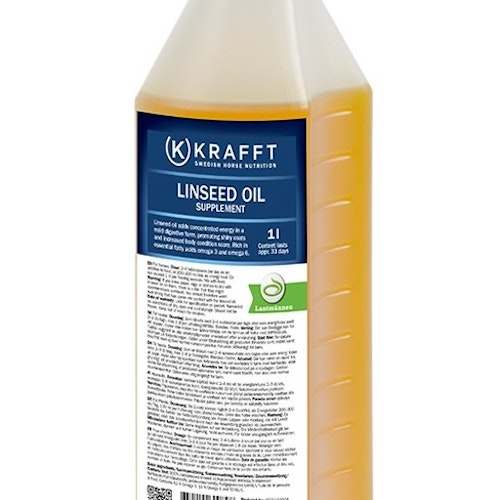 KRAFT LINSEED OIL 1li