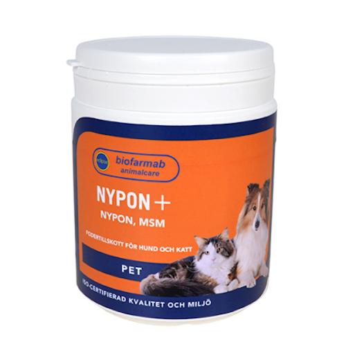 Nypon+ 350 g,  för hund & katt