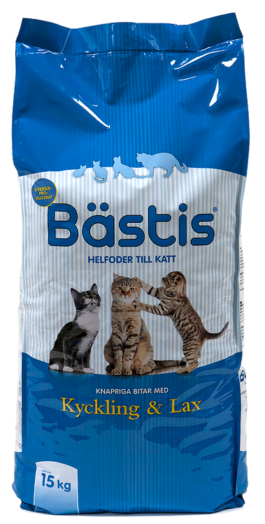 Bästis Katt Kyckling & Lax