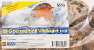 Gourmetboll vildfågel