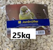 Jordnötter, OLIKA STORLEKAR!