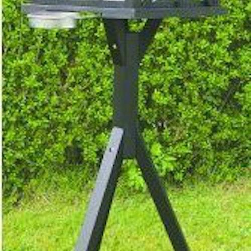 """Fågelmatare """"panorama"""" med fot och LED ljus"""