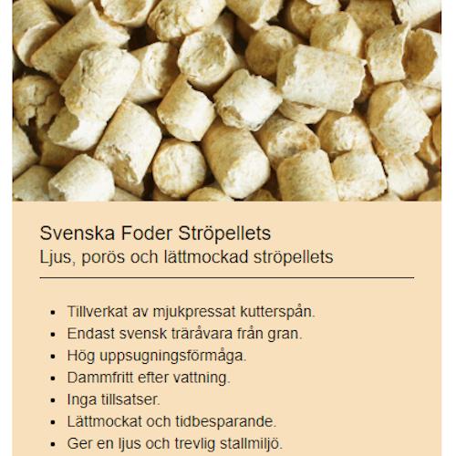 Svenska Foder Ströpellets 14kg