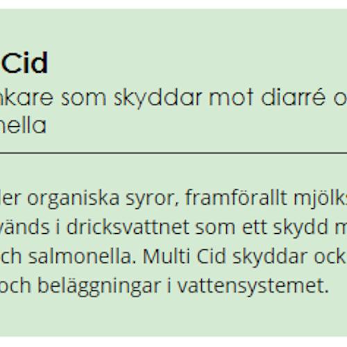 Multi Cid 20kg