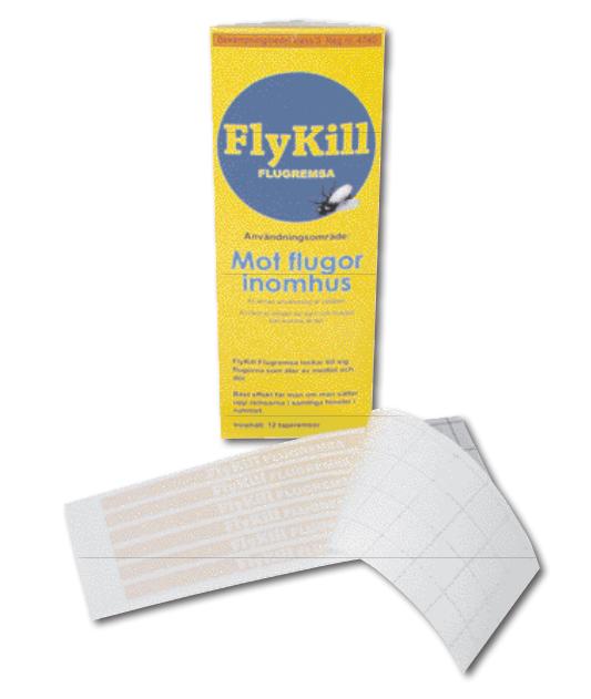 FLYKILL flugremsa 12st/fpk 1st