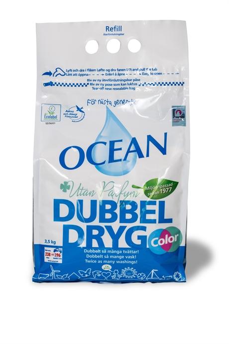 Dubbeldryg refill oparfymerad 3,5kg