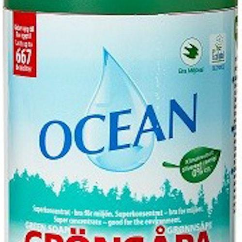 Grönsåpa Bio Plast 1l
