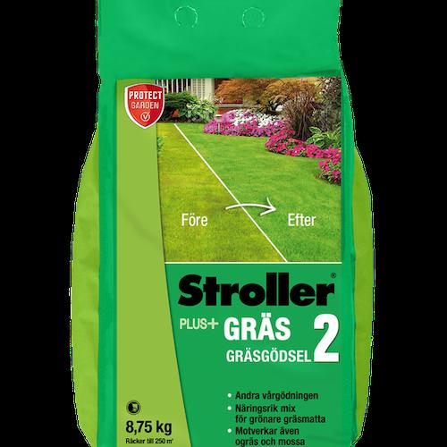 Stroller Plus Gräsgödsel olika storlekar