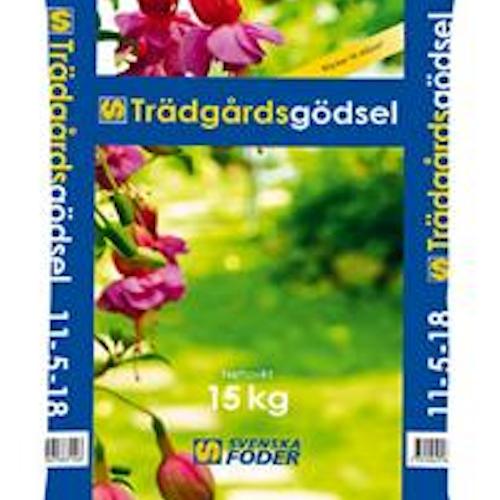 Trädgårdsgödsel NPK 11-5-18, 15kg KAMPANJ!