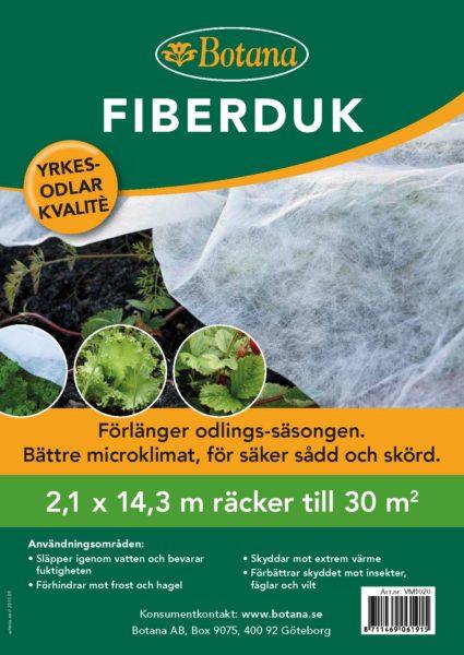 Fiberduk 30 kvm 2,1*14,3 m 1st