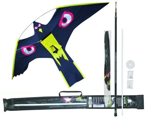 Fågelskrämma set, 4 m teleskop och 1 drake 1st