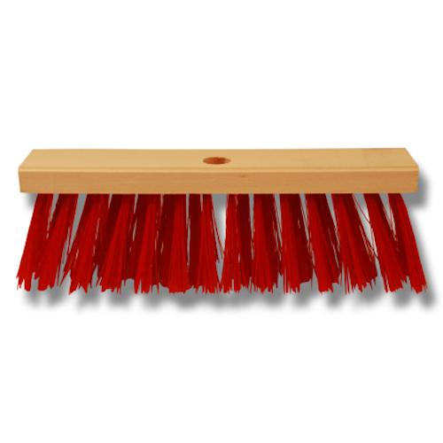 Piassavakvast 30 cm röd