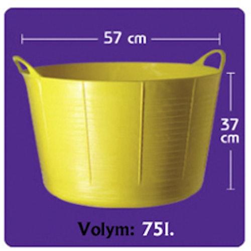 Tubtrug XL 75l Olika färger