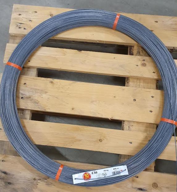High Tensile ståltråd 2,5 mm-625 M 1st