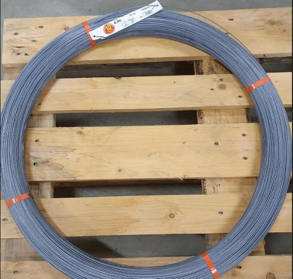 High Tensile ståltråd för permanent stängsling, diameter 2 mm - 1000 m 1st