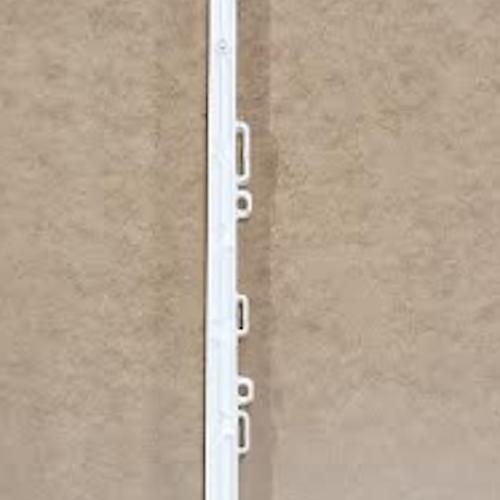 Elstängselstolpe 5 Pack - dubbeltramp, 156 cm inkl spjut