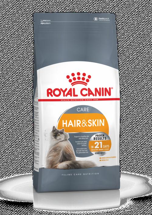 Royal Canin Hair And Skin Care, olika storlekar