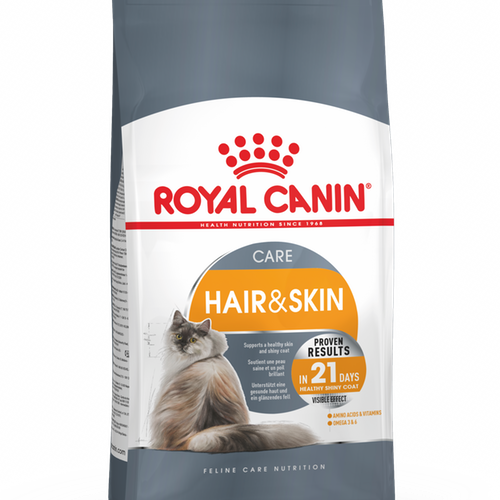 Royal Canin Hair And Skin Care, olika storlekar